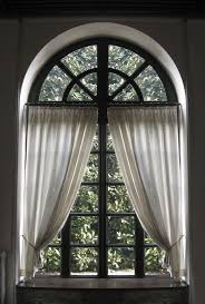 Long Window Curtain Ideas Curtains For Arched Windows Scalisi Architects