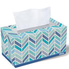 kleenex tissue family size flat box 210 ct