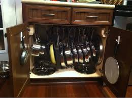 kitchen pan storage ideas 13 best pots and pans storage images on kitchen