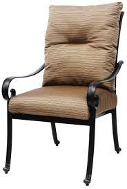 Patio Swivel Rocker Chair by Cast Aluminum Tortuga Outdoor Patio Swivel Rocker With Cushion