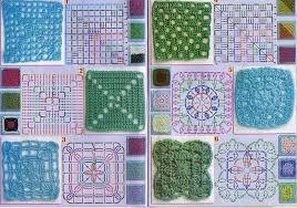 tutorial piastrelle uncinetto 6 diverse mattonelle bertafilava