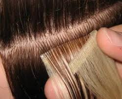 sewed in hair extensions seamless hair extensions vissa studios