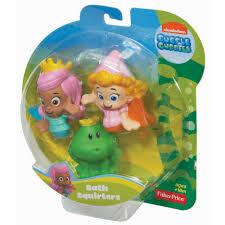 bubble guppies molly deema frog bath squirters