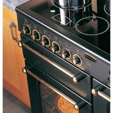 Smeg 110 Gloss Black Induction Rangemaster Cdl90ecbl B Deluxe 90 Electric Ceramic Range