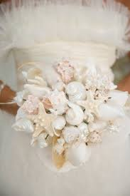 Seashell Bouquet 56 Stunning Beach Wedding Bouquets Weddingomania