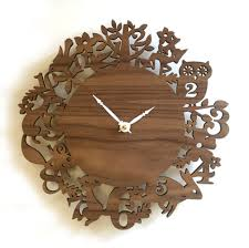 themed wall clock accessories wooden wall clock decor wooden clock ideas with