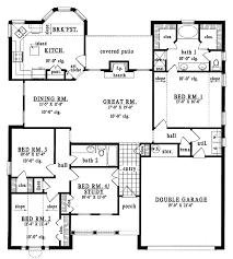 plan42 ranch style house plan 4 beds 2 baths 1947 sq ft plan 42 558
