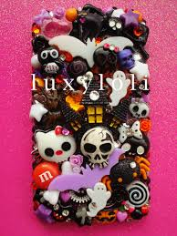 halloween neckties custom halloween decoden phone case