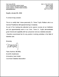 ideas of recommendation letter medical doctor with additional free