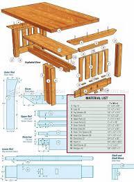 Craftsman Furniture Plans Mission Coffee Table Plans U2022 Woodarchivist