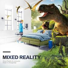 2017 new cheaper mixed reality 3d glasses google ar cardboard for
