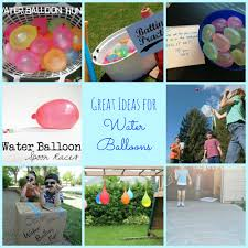 10 great ideas for water balloons happy home fairy