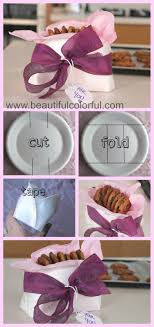 cookie baskets diy beautiful and easy paper plate cookie baskets beautiful
