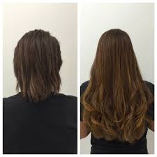 Thin Hair Extensions Before And After by Micro Strand Volumizer Extension Chuck Alfieri
