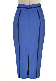 high waisted pencil skirt high waisted pencil skirt with lace trim custom handmade fully