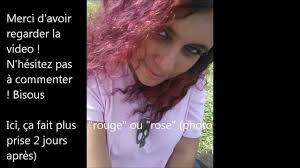 cheveux rouge acajou tuto cheveux burgundy bordaux youtube