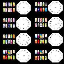 ophir 20pcs airbrush nail stencils 200 designs airbrushing