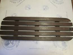 bayliner capri boat floor deck hatch cover teak wood 37 1 2 in