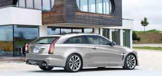 where is the cadillac cts made 2017 cadillac cts v three door wagon rendered gm authority