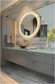 Backlit Mirrors For Bathrooms Backlit Mirror Designs For The Modern Bathroom