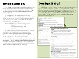 design brief a level introduction this mini portfolio is designed to document the key