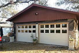 Garage Door Paint Designs Painting Metal Garage Door
