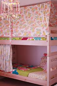 Bunk Bed With Tent At The Bottom Source Delightful Distractions Home Sweet Home Easy Diy