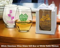 Graduation Wine Glasses Personalized 9oz Stemless Wine Glasses