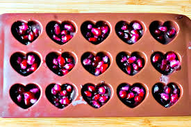 chocolate heart candy chocolate pomegranate heart candies happy mothering