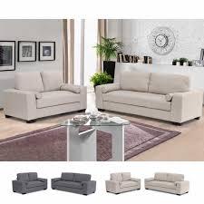 divani per salotti set 2 divani 3 2 posti in tessuto con braccioli per salotti e