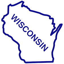Wisconsin State Map by Wisconsin State Outline Clip Clipart Panda Free Clipart Images