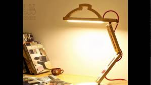 Wooden Table Lamp Eyeshield Wooden Table Lamp Youtube