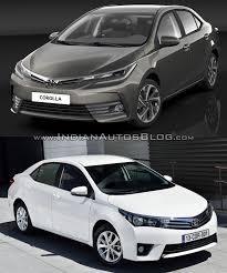 2013 toyota corolla reviews and 2013 toyota corolla vs 2016 toyota corolla facelift front three
