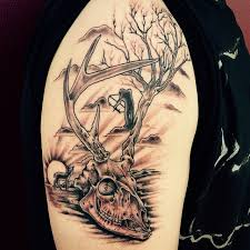 image gallery hunting tattoos designs