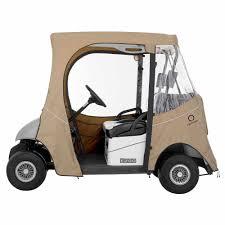 classic accessories fairway e z go golf cart enclosure short roof