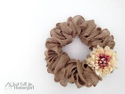 easiest burlap wreath tutorial just call me homegirl