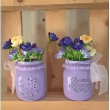 vasi decorativi vasi barattoli decorati shabby