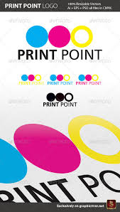 print point logo template by survivor graphicriver