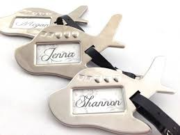 wedding favor luggage tags airplane luggage tag travel destination wedding favours