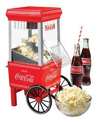 Old Fashioned Popcorn Machine Mini Popcorn Machine Air Popper Coca Cola Series Retro Vintage