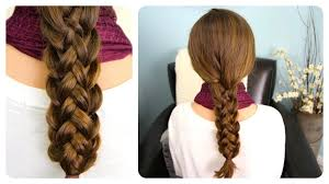 How To Make Hairstyles For Girls by Stacked Braids Cute Girls Hairstyles Youtube