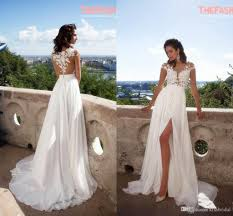 wedding dresses shop online discount 2016 summer wedding dresses appliques thigh