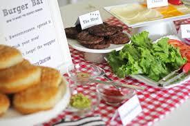 how to create a burger bar for labor day fleur de lis event