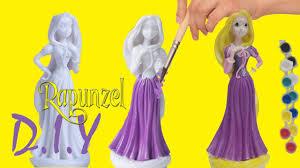 paint your own disney princess rapunzel ariel easy painting diy