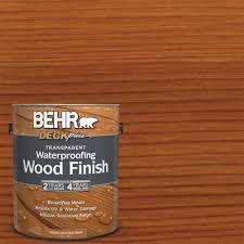 Waterproof Deck Flooring Options by Behr Deckplus 1 Gal Deckplus Natural Clear Transparent