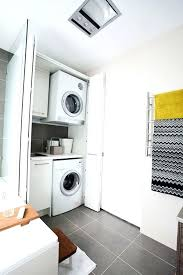 laundry in bathroom ideas laundry room and bathroom combo designs mostfinedup