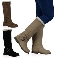 s boots calf length s winter boots fur mount mercy