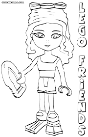 lego friends coloring pages coloring pages download print