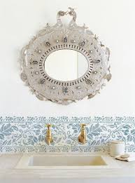 Bathroom Wall Stencil Ideas 40 Best Kitchen Images On Pinterest Wall Stenciling