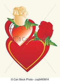 friendship heart heart and roses for my best friend two hearts and two eps